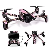 MightySkins Skin for Parrot Anafi Drone – Pink Tree Camo | Protective, Durable, and Unique Vinyl Decal wrap Cover | Easy to Apply, Remove, and Change Styles | Made in The USA Review