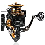 Cheap Sougayilang Fishing Reel Spinning Big Spool 13+1BB FDD 4000-7000 Series Long Shot Saltwater Surfcasting Fishing Reels (13+1BB LongShot 4000 Series)