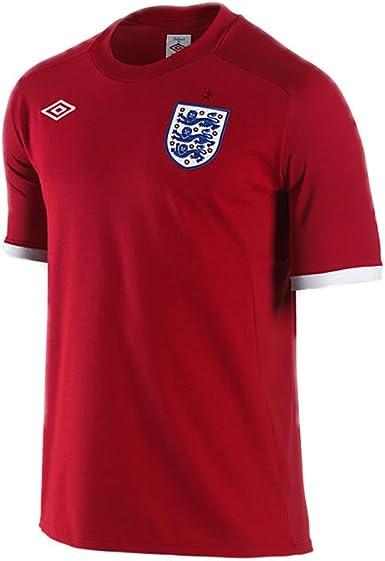 Umbro Inglaterra Away Jersey 2010/11, 36, Rojo: Amazon.es: Deportes y aire libre