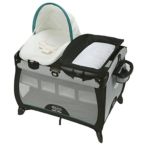 Used, Graco Pack 'n Play Quick Connect Portable Lounger Deluxe for sale  Delivered anywhere in Canada