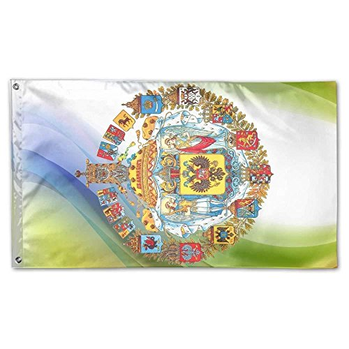 Russian Empire Home Garden Flags Polyester 3x5 Foot