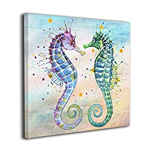 51LxuWJbtBL._SS300_ Seahorse Wall Art & Seahorse Wall Decor
