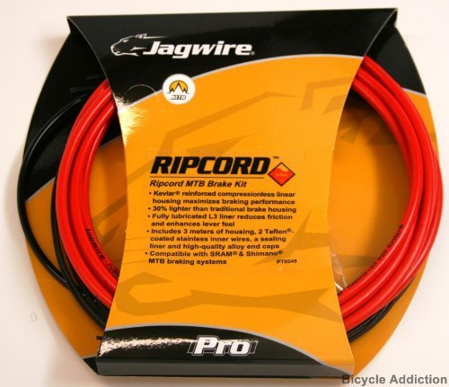 Jagwire Ripcord DIY Brake Kit, Red