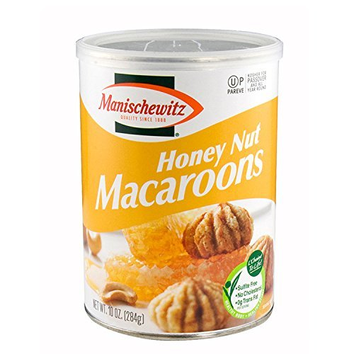 Kosher for Passover Honey Nut Macaroons,10 Ounces by Manischewitz