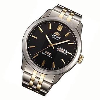 Orient Uhr Classic Automatik Tag Datum Bi color Herrenarmbanduhr FEM7P00CB9