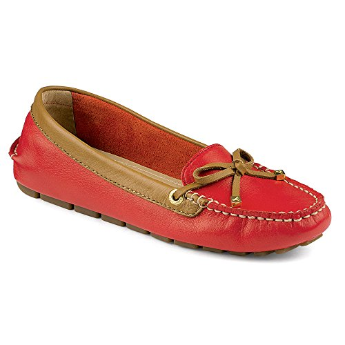 Sperry Women's Katharine Shoes Red/Cognac