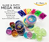 Putty and Slime MEGA Party Favor Mix of 21 Pieces