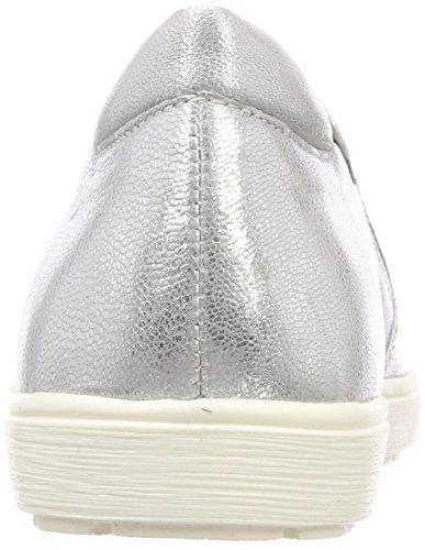 Caprice 24662 Dame Tøffel Silber (sølvmetal 920) UUpDZwL
