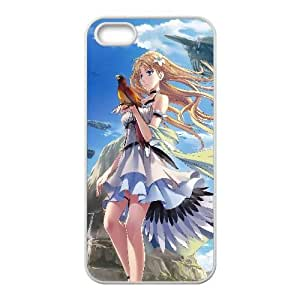 Falcon And A Blonde Anime 3 iPhone 4 4s Cell Phone Case White WON6189218011757
