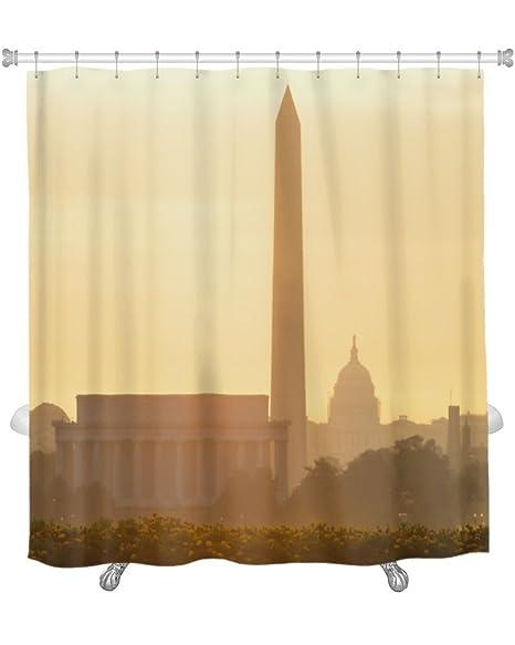 Amazon Gear New Washington Dc National Mall At Sunrise Shower