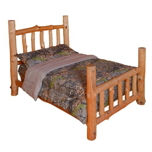 THE WOODS Premium Microfiber Camo Comforter (Natural, King)