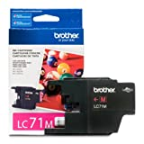 Office Products : Brother Printer LC71M Standard Yield Magenta Ink