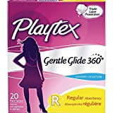 Health & Personal Care : Playtex Gentle Glide 360 Tampons - Regular - 20 ct