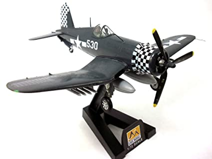 Vought F4U Corsair 1/72 Scale Assembled and Painted Plastic Model