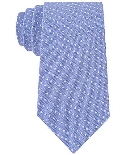 Club Room Men's Boardwalk Classic Dot Silk-Blend Tie Blue Club Room Mens Silk Tie