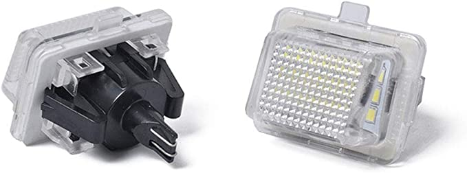 elegantstunning ad Alta Resistenza luci Targa a LED per Mercedes W204/W221