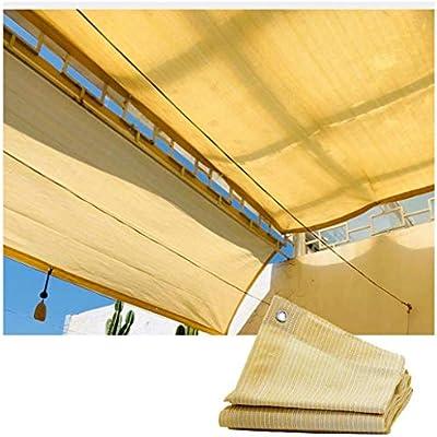 Toldos de Jardín Sombreado Net Sombra Tela Pérgola Patio Toldos Resistente A Los Rayos UV Red para Gazebo Aire Libre Terraza Patio Decoración Fiesta Protección Plantas Cubierta Automóvil: Amazon.es: Hogar