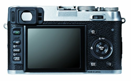 Fujifilm X100S 16 MP Digital Camera with 2.8-Inch LCD (Silver) (OLD MODEL)