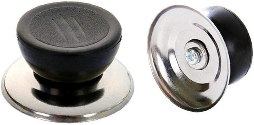 Universal Kitchen Lid Handle Cookware Black Lid Knob Handle Replacement Pot Part Cookware Kitchen Accessories Tools