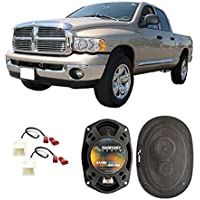 Fits Dodge Ram Truck 1500 2002-2008 Front Door Factory Replacement Harmony HA-R69 Speakers