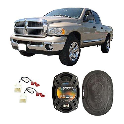 Fits Dodge Ram Truck 1500 2002-2008 Front Door Factory Replacement Harmony HA-R69 Speakers