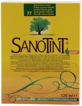 Sanotint hair dye - Dark. blonde No. 77 by Cosval: Amazon.es ...