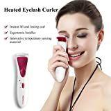 TOUCHBeauty Heated Eyelash Curler with Double Silicone Pad 60°C TB-1016(White)