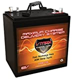 VMAX XTR6-235 6Volt 235ah Golf Cart Battery AGM GC-2 Replaces NAPA 8143