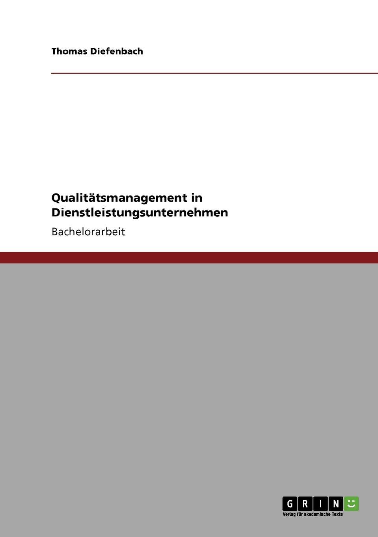 Qualitätsmanagement in Dienstleistungsunternehmen (German Edition) PDF