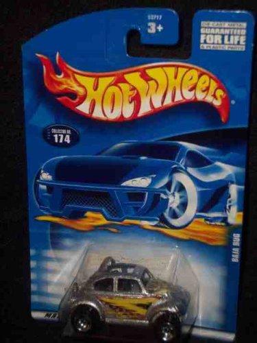 #2001-174 Baja Bug Unpainted base Collectible Collector Car Mattel Hot Wheels (Baja Bug Hot Wheels)