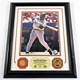 Tony Gwynn Game Used Collection Photo Bat Coin Highland Mint Framed DF024869 - MLB Game Used Bats