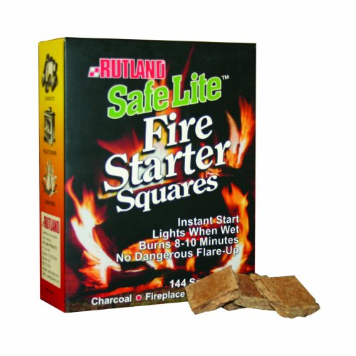 Camp Cooking Tips And Tricks - Use the right camp cooking tools like these Rutland Safe Lite Fire Starter Squares