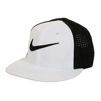 25e4c466a9b Amazon.com  Nike Dri-Fit Training Vapor True Cap Black White 729508 ...