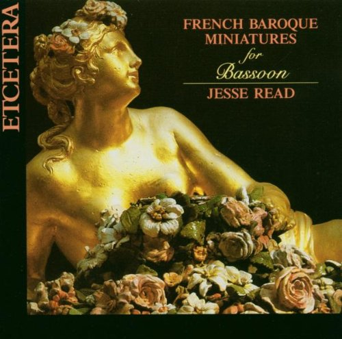 French Baroque Miniatures for Bassoon Miniature Bassoon