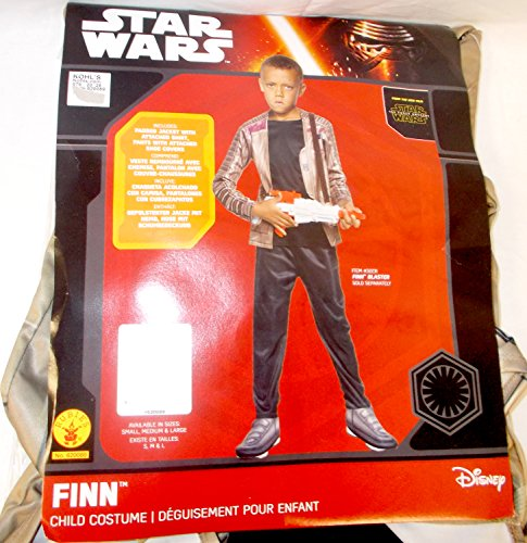 Rubie's Star Wars: The Force Awakens Child's Deluxe Finn Costume, (60's Party Costumes Ideas)