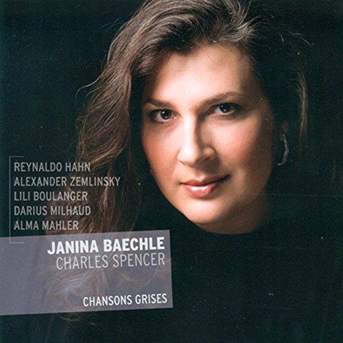SACD : Janina Baechle - Chansons Grises (Hybrid SACD)