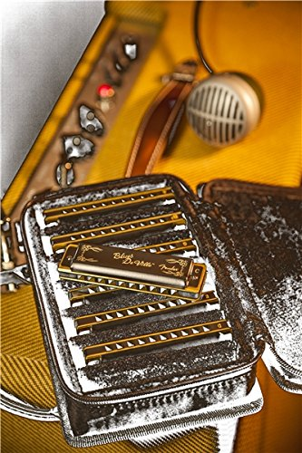 Fender Blues Deville Harmonica, 7-Pack with Case