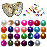 BZQH-TANG 2018 Fashion 7-8mm Oysters with Large Round Pearl inside Birthday Gifts (Random Color 10 PCS)