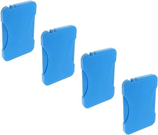 4 Piezas Bloques de Hielo Paquete Refrigerador Bolsa Caja Picnic ...