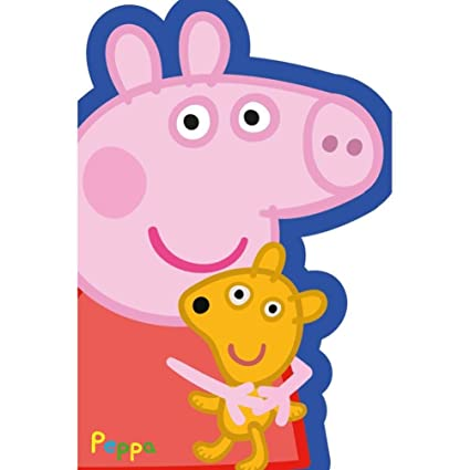 Peppa Pig - Tarjeta de cumpleaños: Amazon.es: Oficina y ...