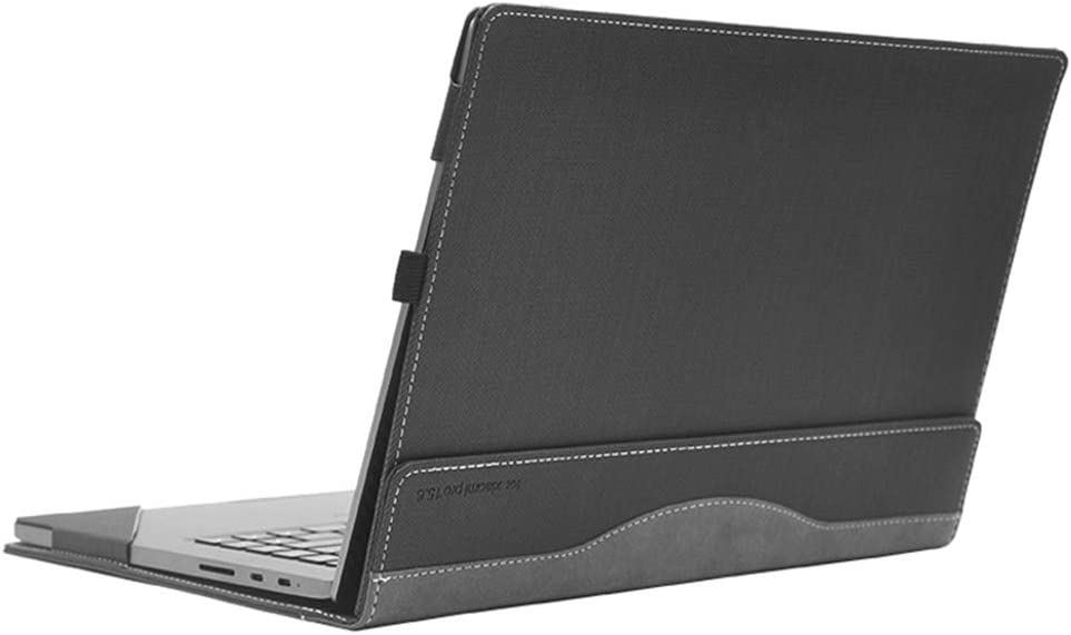 "Honeycase for XiaoMi Mi Notebook Air 13.3 Inch Case, PU Leather Folio Stand Protective Laptop Cover, Compatible for XiaoMi Air 13""(xiaomi-13,Grey)"