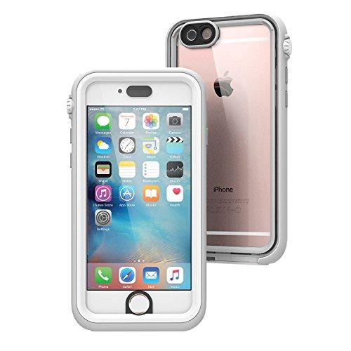Catalyst Hülle für Apple Iphone 6S plus (weiß/nebelgrau), wasserdicht, schockabsorbierend, mit voller Touchscreen-Funktion inkl. Touch ID