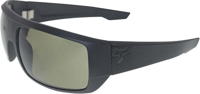 b0348d3f48 Fox Men s The Redeem 06319-902-OS Black Shield Sunglasses  Fox   Amazon.co.uk  Clothing