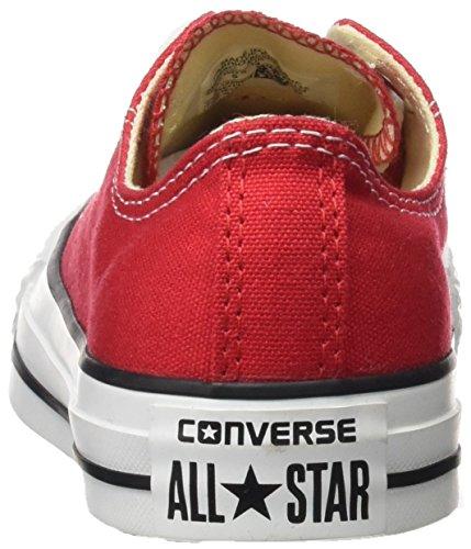 Unisex Ox Converse Zapatillas Star Core Chuck Taylor All Rojo qOw4x0OP