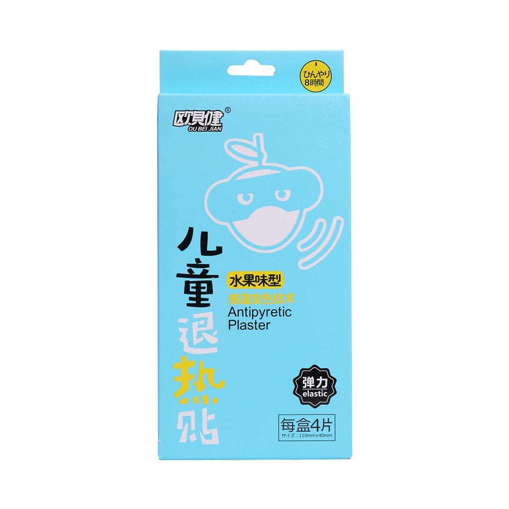 Alivio de refrigeración parche para fiebre migraña molestias ...