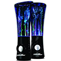 Dancing Water Speakers with AC adapter - Black by Leading Edge