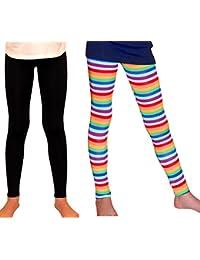 Girl Leggings Bright Stripes