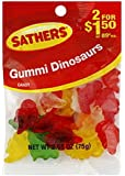 Farley's & Sathers Candy, Gummy Dinos, 2.65 Ounce (Pack of 12)