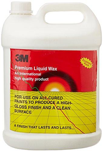3M Premium Liquid Wax  5 L, Off White