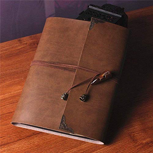 SAIBANG Personal DIY Photo Album Handmade Retro Leather Albums Scrapbook Guestbook Review